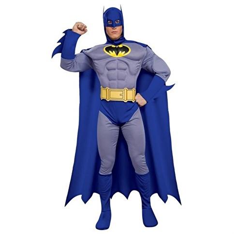 Rubies Batman Yetişkin Kostüm Large Renkli